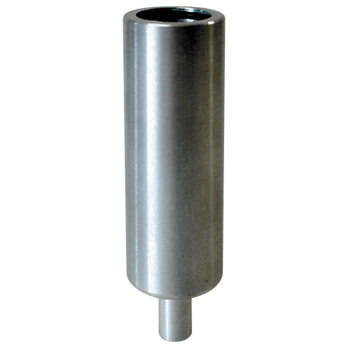 225-01-03 Calibration Adaptor, for Aluminium cyclones. Allows 1/4 inch ID Tygon tubing to be attached to the cyclone for simple calibration.