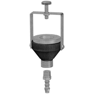 391-01 Calidaptor, adaptor for calibrating the Inhalable IOM Sampling Head
