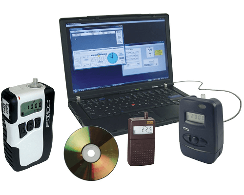 DataTrac Data Management Software can be used with several sampling pumps in the SKC product range