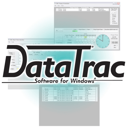 DataTrac® Pro Software & Interface Kit includes e-Cradle, power supply with cord and USB cable