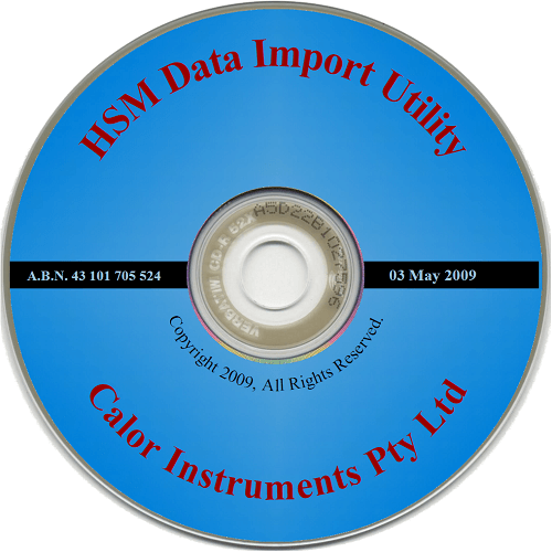 905-CD Replacement Manual and Data Download Utility Software CD for Heat Stress Monitor