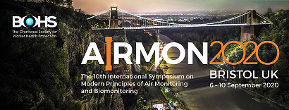 SKC Ltd will be attending the Airmon 2020 Conference, hosted by the BOHS, in Bristol , Septmber 6-10