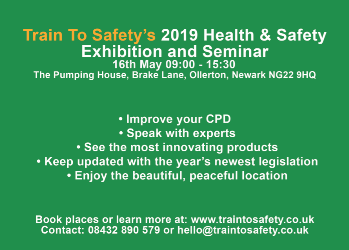 SKC Ltd are exhibiting at the Health & Safety Seminar 16th May 2019