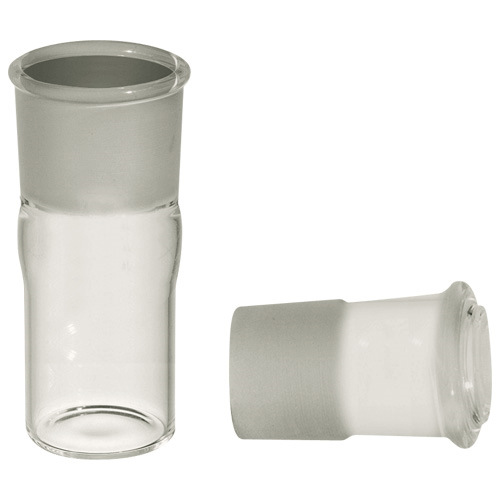 225-9596A 5 ml BioSampler Collection Vessel (bottom) and ground joint cap, for transporting samples