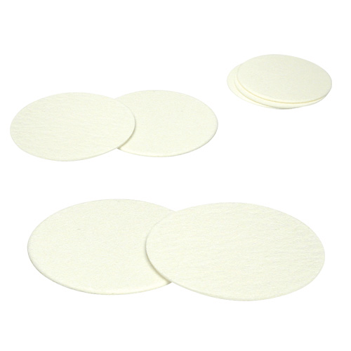 225-1823 Quartz Filters, diameter 47 mm, 432 µm thick