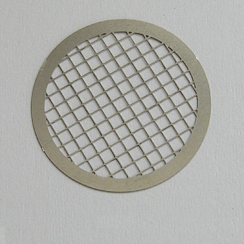 225-66 Stainless steel grids without tab, diameter 25 mm for use with Cyclone 225-69