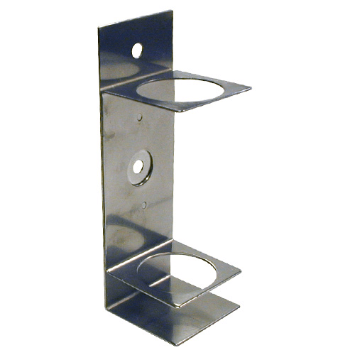 225-20-01 Single Impinger Holder, suitable for glass impingers only, for 1 impinger or 1 trap. Manufactured in Stainless steel