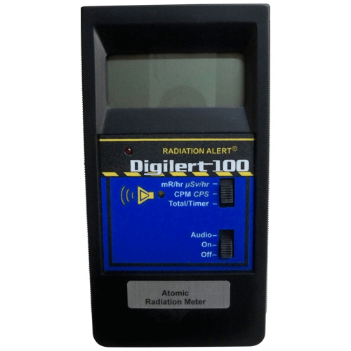 770-802 Atomic/Nuclear Radiation Meter, 1 to 19,999 cpm or 0.001 or 100 mR/hr for HAZ-SCANNER IEMS