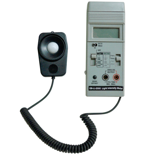 770-804 Indoor Light Intensity Meter, 0 to 50,000 lux/0 to 5000 fc for HAZ-SCANNER IEMS
