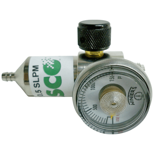770-816 Calibration Gas Regulator, 1 L/min, for calibrating HAZ-SCANNER IEMS gas sensors