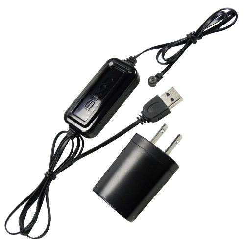 220-300A Single Charger for Pocket Pump TOUCH with power cable and USB magnetic single charger cable