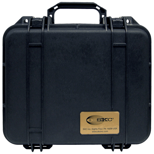 224-901 Pelican Hard-Sided Single Pump Case which is watertight, airtight, dustproof and crushproof for AirChek XR5000 pump
