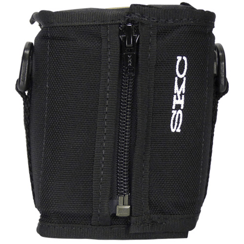 224-913 oise-reducing Black nylon pouch