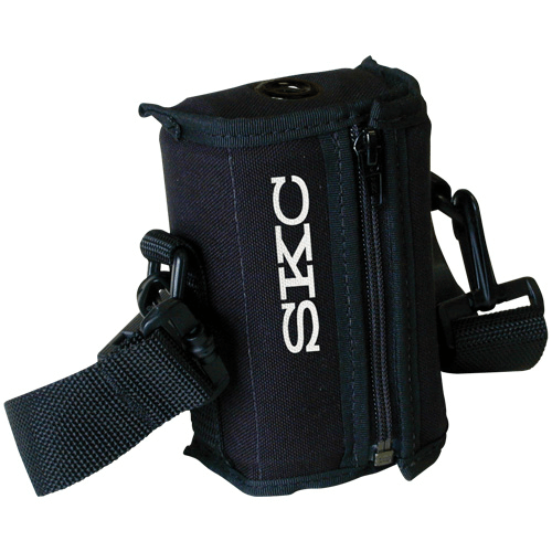 224-96C Noise-reducing Black nylon pouch with adjustable waist belt and shoulder strap for Sidekick pump