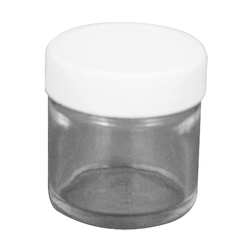 225-8376/8377 Glass Jars, for chemical analysis
