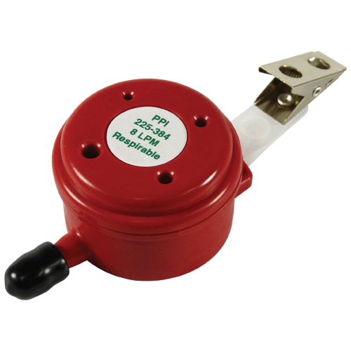 225-384 Disposable Respirable Parallel Particle Impactor (PPI) (red), 8 L/min flow rate