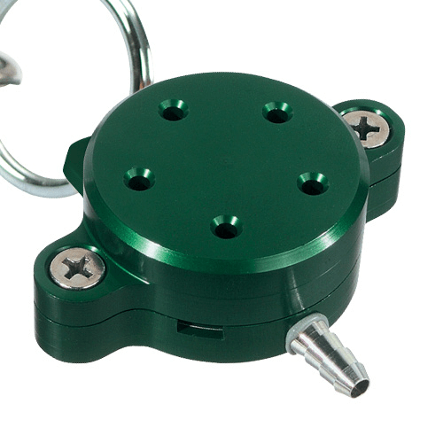 761-200 Personal Environmental Monitor (green) for PM10 (10 µm), Sampling Flow: 2 L/min