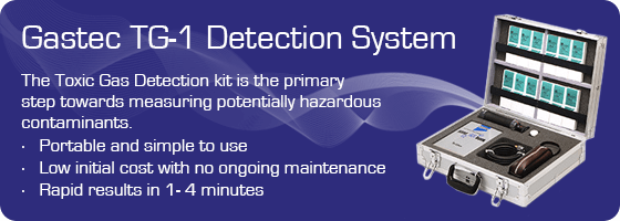 Gastec Toxic Gas Detection Kit