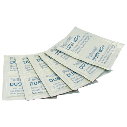 550-022 Full Disclosure Dust Wipes, which conform to ASTM E1792.