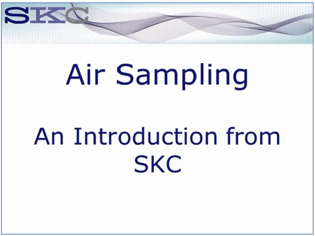 Introduction to Air Sampling Video