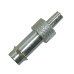 Nickel-plated Brass Luer Adaptors