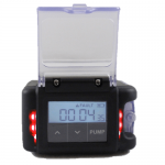 The AirChek Essential has highly visible alarm LEDs